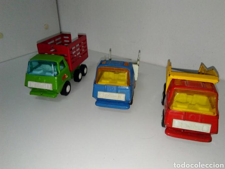 Juguetes antiguos Rico: Lote 3 camiones mini sanson rico - Foto 2 - 158740685