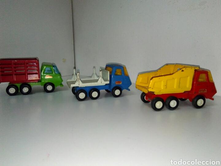 Juguetes antiguos Rico: Lote 3 camiones mini sanson rico - Foto 3 - 158740685