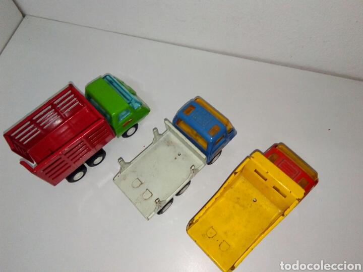 Juguetes antiguos Rico: Lote 3 camiones mini sanson rico - Foto 4 - 158740685