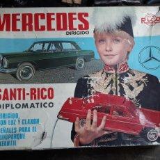 Juguetes antiguos Rico: MERCEDES SANTI-RICO DIPLOMATICO CABLEDIRIGIDO. Lote 159626749