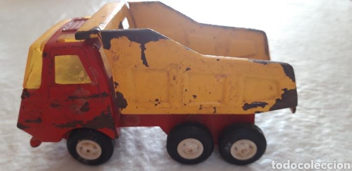 Juguetes antiguos Rico: Rico camión mini sansón metal volquete. - Foto 2 - 160191133