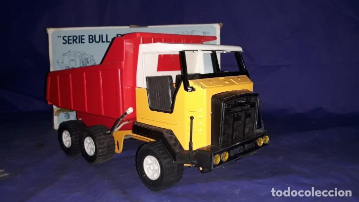 Juguetes antiguos Rico: Camión de obra-sanson junior de la casa rico made in spain años 70/80 - Foto 6 - 160316922