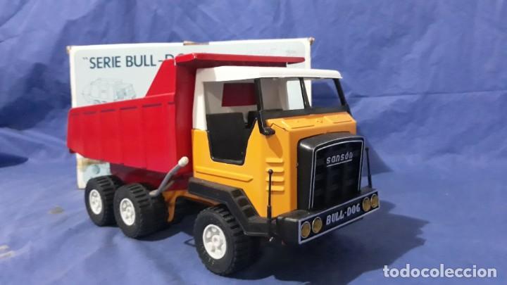 Juguetes antiguos Rico: Camión de obra-sanson junior de la casa rico made in spain años 70/80 - Foto 8 - 160316922