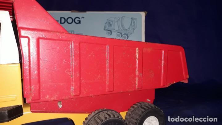 Juguetes antiguos Rico: Camión de obra-sanson junior de la casa rico made in spain años 70/80 - Foto 12 - 160316922