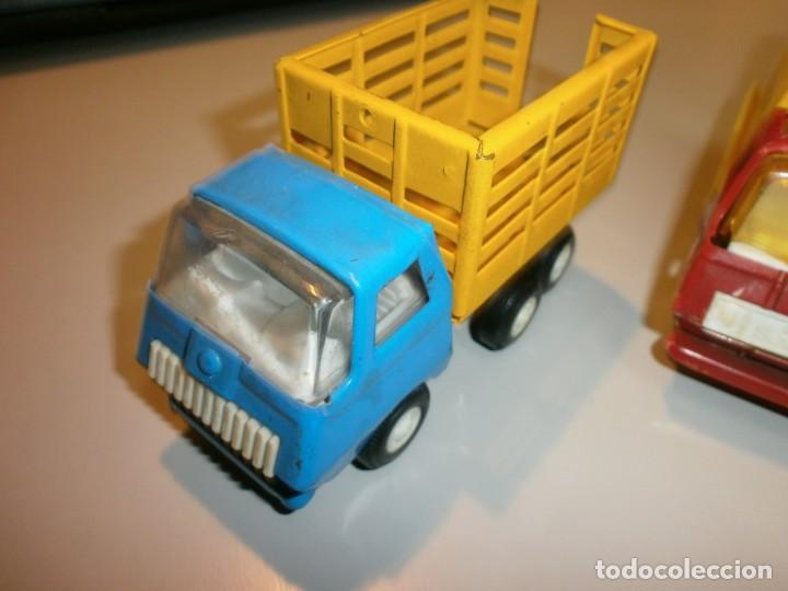 Juguetes antiguos Rico: lote de 3 camiones rico mini sanson ver fotos - Foto 2 - 161257018