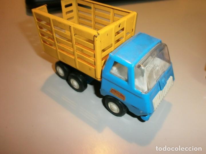 Juguetes antiguos Rico: lote de 3 camiones rico mini sanson ver fotos - Foto 3 - 161257018