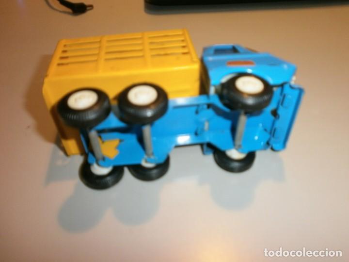 Juguetes antiguos Rico: lote de 3 camiones rico mini sanson ver fotos - Foto 4 - 161257018