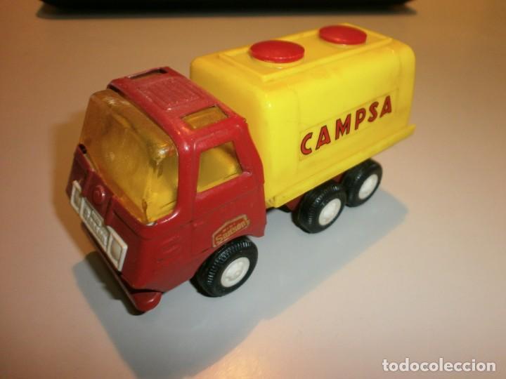 Juguetes antiguos Rico: lote de 3 camiones rico mini sanson ver fotos - Foto 5 - 161257018