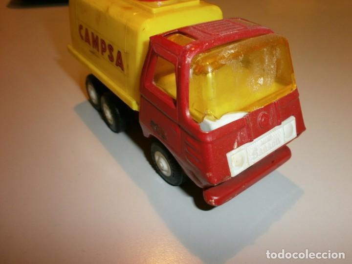 Juguetes antiguos Rico: lote de 3 camiones rico mini sanson ver fotos - Foto 6 - 161257018