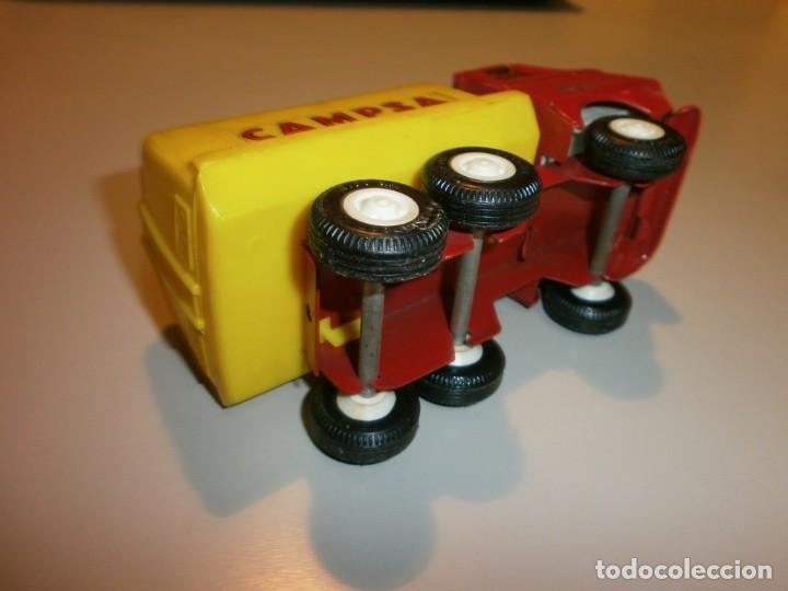 Juguetes antiguos Rico: lote de 3 camiones rico mini sanson ver fotos - Foto 7 - 161257018