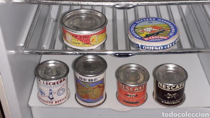 Juguetes antiguos Rico: Frigorífico Nevera Siemens, Pepsi-Cola, Cerveza Damm, San Miguel, Juguetes Rico IBI Spain, años 60. - Foto 4 - 161596866