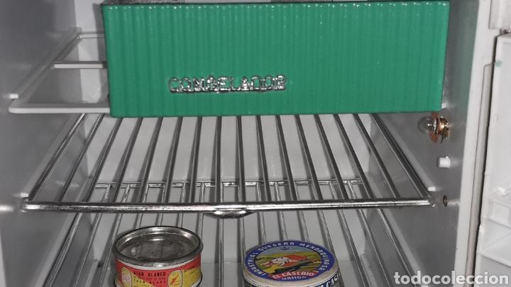 Juguetes antiguos Rico: Frigorífico Nevera Siemens, Pepsi-Cola, Cerveza Damm, San Miguel, Juguetes Rico IBI Spain, años 60. - Foto 5 - 161596866