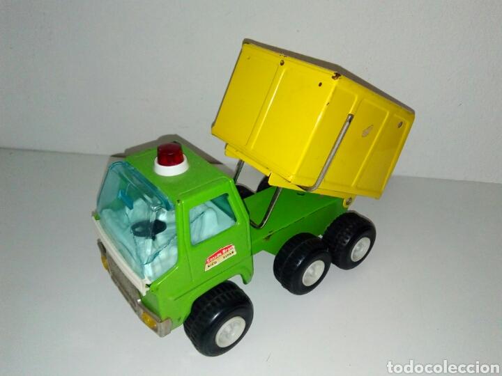 Juguetes antiguos Rico: Camion sanson bravo rico volquete - Foto 2 - 162426936