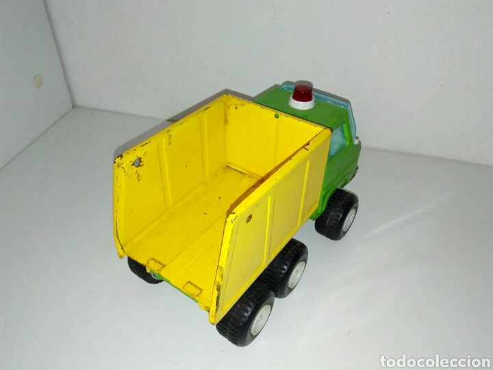 Juguetes antiguos Rico: Camion sanson bravo rico volquete - Foto 3 - 162426936