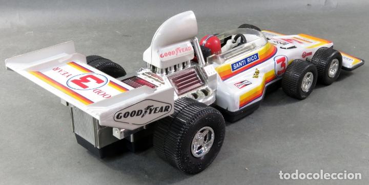 Juguetes antiguos Rico: Bólido Fórmula 1 Rico Lanzado a fricción años 80 Funciona - Foto 5 - 165355674