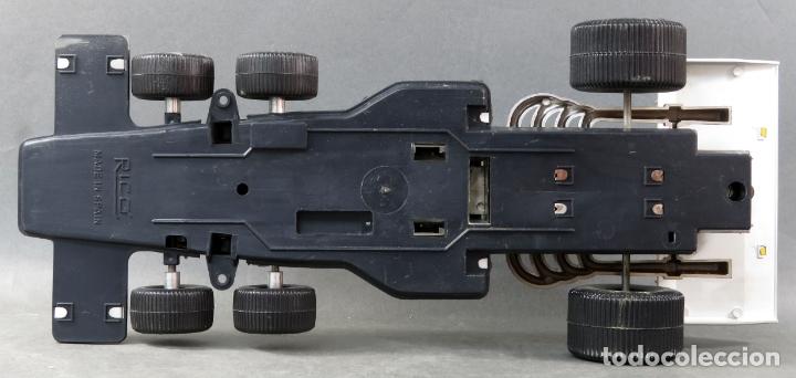 Juguetes antiguos Rico: Bólido Fórmula 1 Rico Lanzado a fricción años 80 Funciona - Foto 6 - 165355674