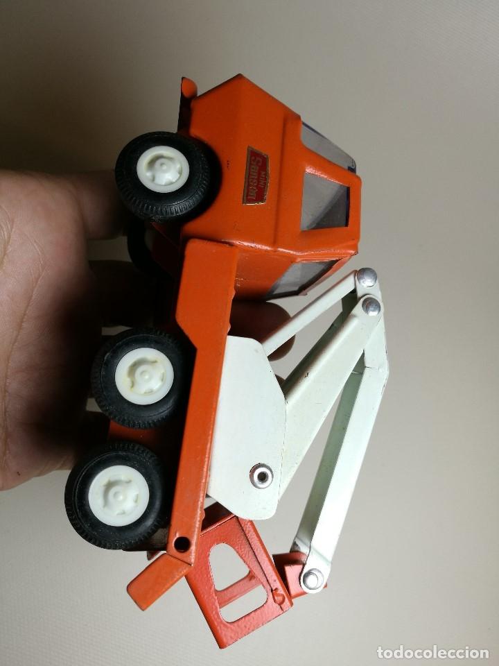Juguetes antiguos Rico: camion grua cesta Mini Sanson de Rico - Foto 5 - 166946992