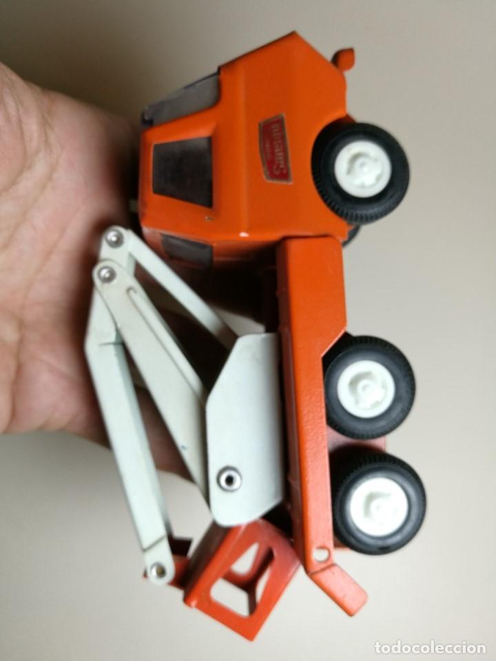 Juguetes antiguos Rico: camion grua cesta Mini Sanson de Rico - Foto 10 - 166946992