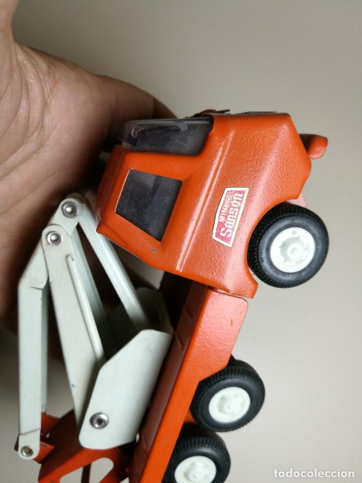 Juguetes antiguos Rico: camion grua cesta Mini Sanson de Rico - Foto 11 - 166946992