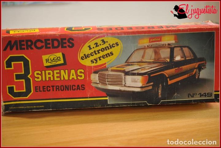 Juguetes antiguos Rico: TX4 - RICO - MERCEDES BENZ POLICIA POLICE TRES SIRENAS - Foto 2 - 167124136