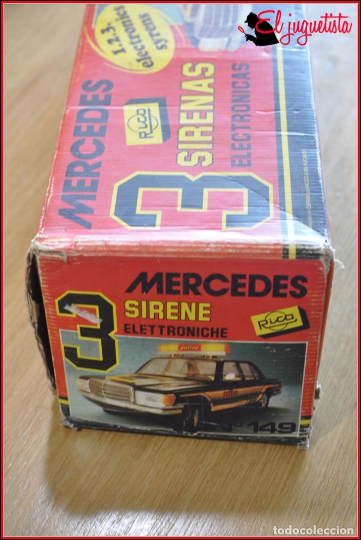 Juguetes antiguos Rico: TX4 - RICO - MERCEDES BENZ POLICIA POLICE TRES SIRENAS - Foto 4 - 167124136
