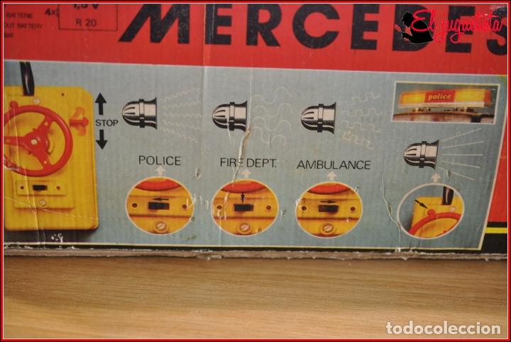 Juguetes antiguos Rico: TX4 - RICO - MERCEDES BENZ POLICIA POLICE TRES SIRENAS - Foto 6 - 167124136