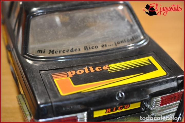 Juguetes antiguos Rico: TX4 - RICO - MERCEDES BENZ POLICIA POLICE TRES SIRENAS - Foto 33 - 167124136