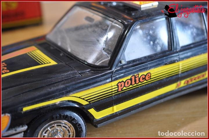 TX4 - RICO - MERCEDES BENZ POLICIA POLICE TRES SIRENAS (Juguetes - Marcas Clásicas - Rico)