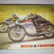 Juguetes antiguos Rico: MOTO A FRICCIÓN RICO. Lote 167112356