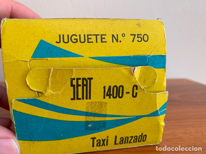 Juguetes antiguos Rico: SEAT 1400 C SEAT 1500 RICO POLICIA ESCALA 1/20 - Foto 8 - 167962416