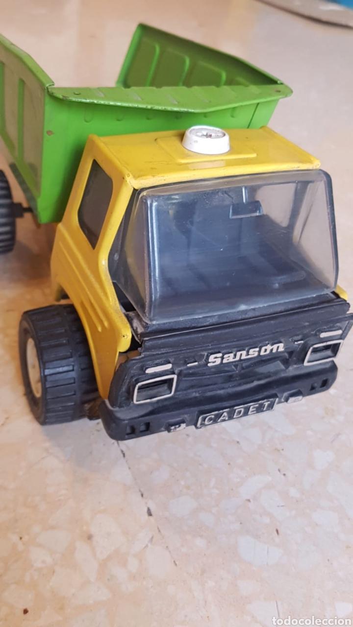 Juguetes antiguos Rico: Camión hojalata Rico Sansón Cadet - Foto 6 - 168114590
