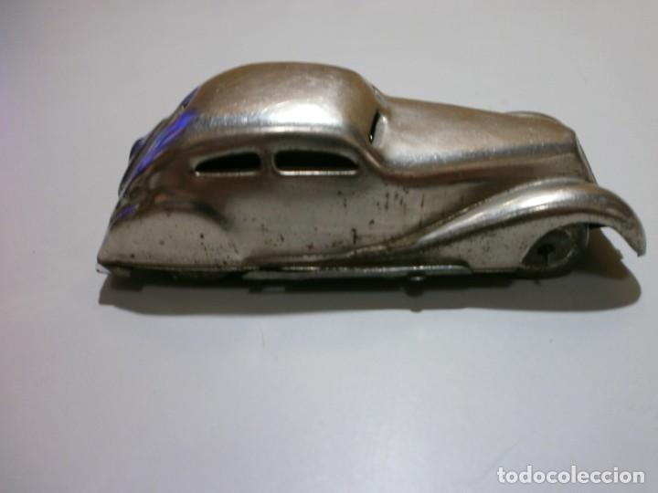 Juguetes antiguos Rico: años 30 coche metalico a cuerda rico o paya funciona mide10x3x4,5 ver fotos - Foto 4 - 168192348