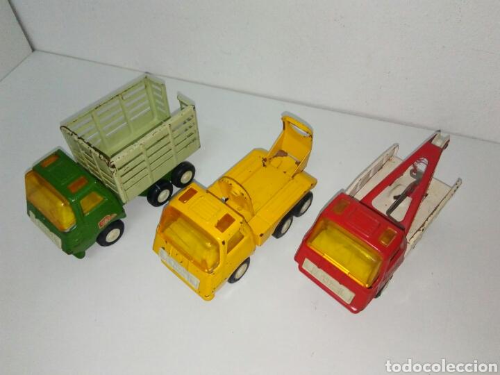 Juguetes antiguos Rico: Lote 3 camiones mini sanson rico - Foto 2 - 168718434