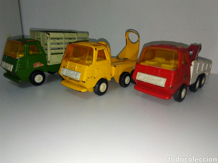 Juguetes antiguos Rico: Lote 3 camiones mini sanson rico - Foto 3 - 168718434