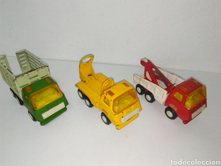 Juguetes antiguos Rico: Lote 3 camiones mini sanson rico - Foto 4 - 168718434