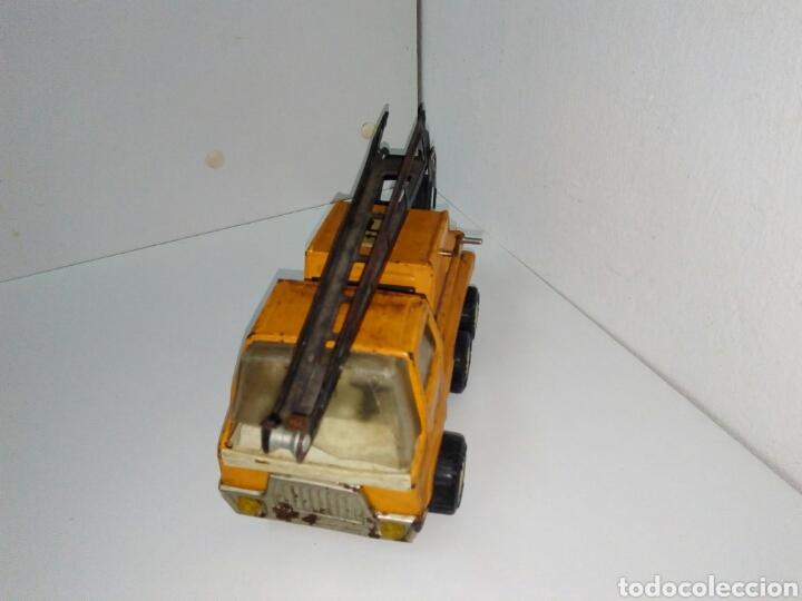 Juguetes antiguos Rico: Camion sanson rico grua - Foto 3 - 169220932