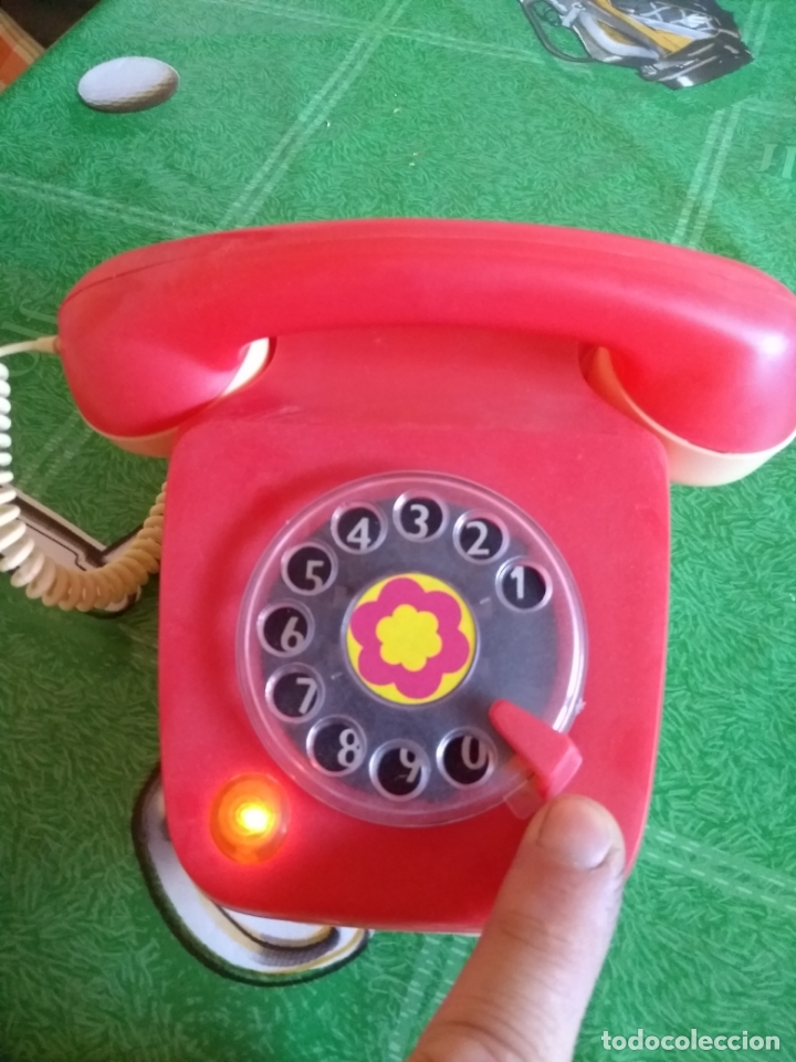 Juguetes antiguos Rico: ANTIGUO TELEFONO - Foto 2 - 169824024