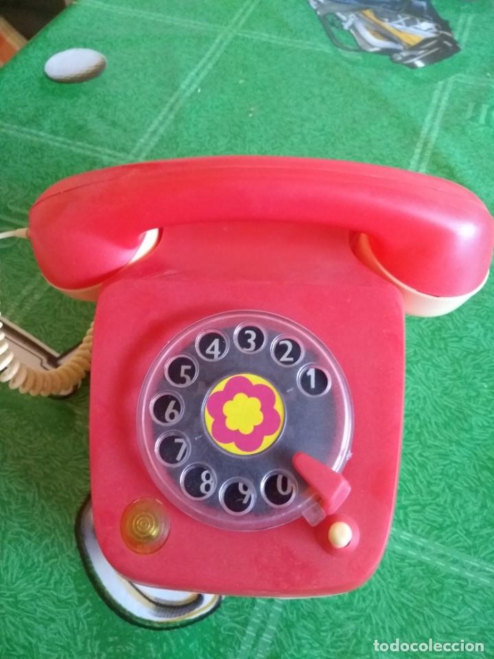 Juguetes antiguos Rico: ANTIGUO TELEFONO - Foto 3 - 169824024