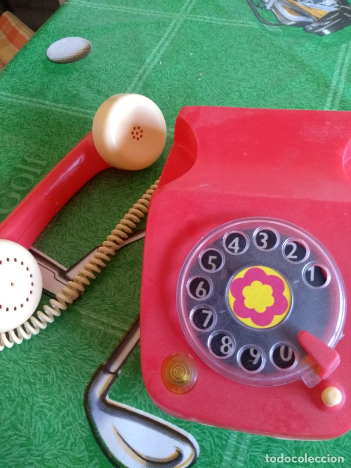 Juguetes antiguos Rico: ANTIGUO TELEFONO - Foto 5 - 169824024