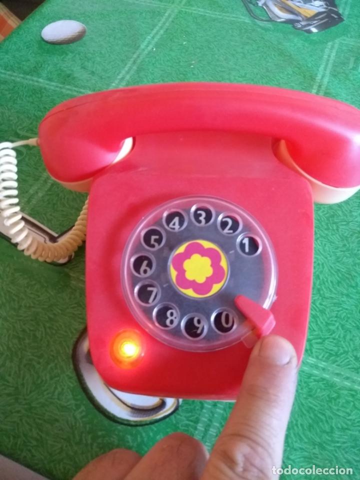 ANTIGUO TELEFONO (Juguetes - Marcas Clásicas - Rico)
