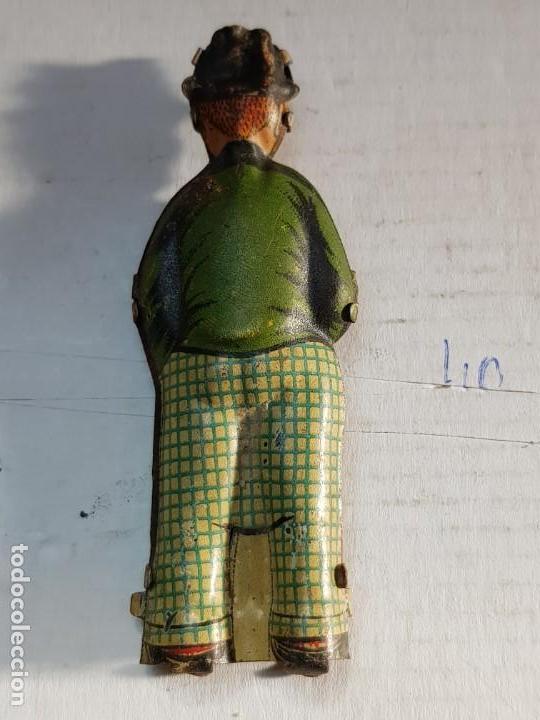 Juguetes antiguos Rico: Figura Hombre del Paraguas hojalata de Rico años 30 - Foto 2 - 171626667