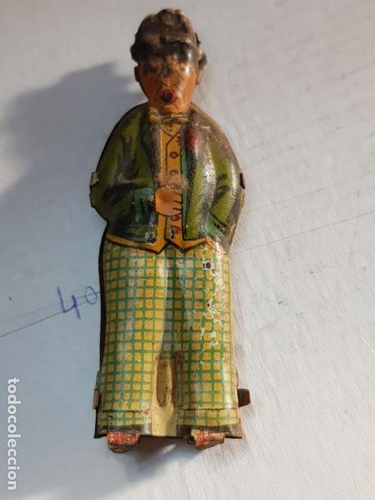 Juguetes antiguos Rico: Figura Hombre del Paraguas hojalata de Rico años 30 - Foto 5 - 171626667