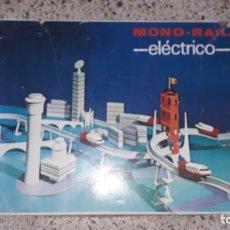Juguetes antiguos Rico: MONO RAIL ELECTRICO DE JUGUETES RICO, TREN ANTIGUO, JUGUETE ANTIGUO MONORAIL DE JUGUETE. Lote 172417924