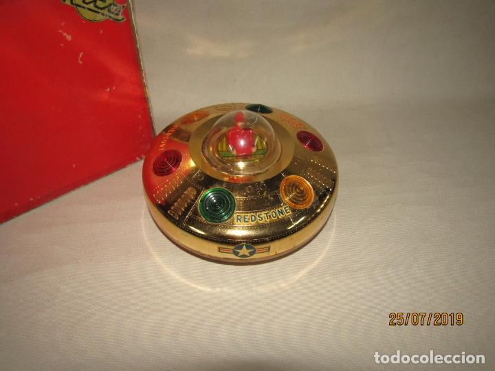 Juguetes antiguos Rico: Antiguo Platillo Volante Eléctrico de Juguetes RICO - en Caja Original - Foto 3 - 172631234