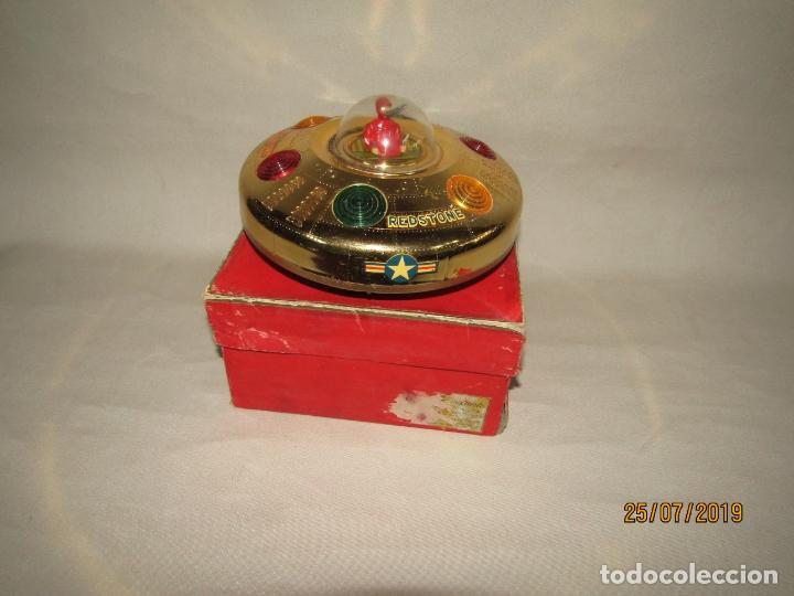 Juguetes antiguos Rico: Antiguo Platillo Volante Eléctrico de Juguetes RICO - en Caja Original - Foto 5 - 172631234
