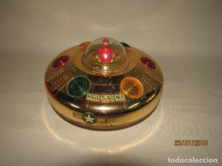 Juguetes antiguos Rico: Antiguo Platillo Volante Eléctrico de Juguetes RICO - en Caja Original - Foto 7 - 172631234