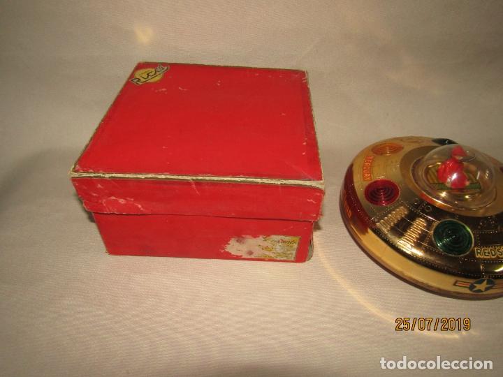 Juguetes antiguos Rico: Antiguo Platillo Volante Eléctrico de Juguetes RICO - en Caja Original - Foto 8 - 172631234