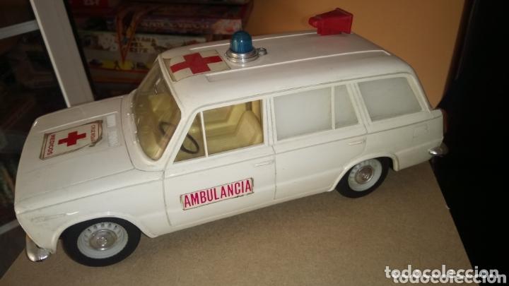 SEAT 1430 DE RICO. AMBULANCIA. CAJA ORIGINAL. (Juguetes - Marcas Clásicas - Rico)