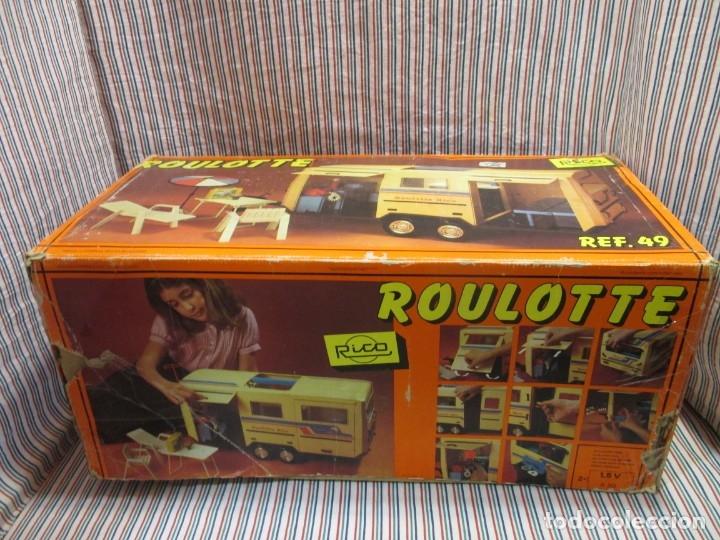 Juguetes antiguos Rico: RICO, ROULOTTE REF 49 EN CAJA - Foto 2 - 174024219
