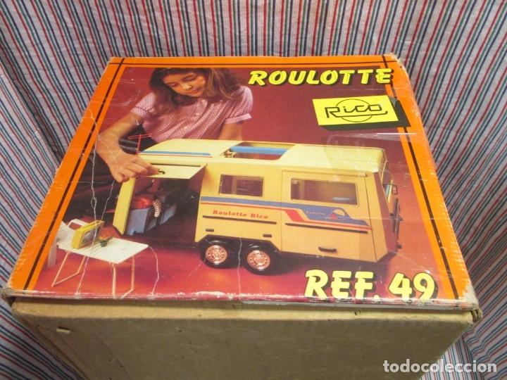 Juguetes antiguos Rico: RICO, ROULOTTE REF 49 EN CAJA - Foto 4 - 174024219